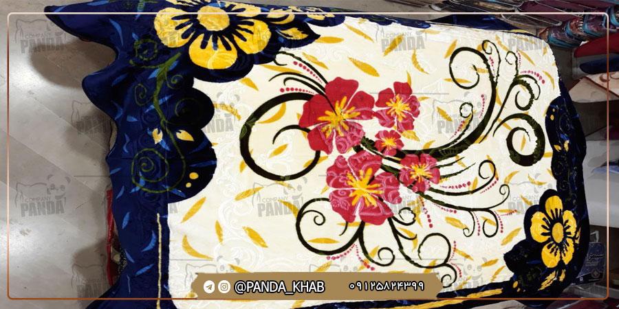 صادرات پتو یک نفره لاله مدل زنبق به افغانستان
