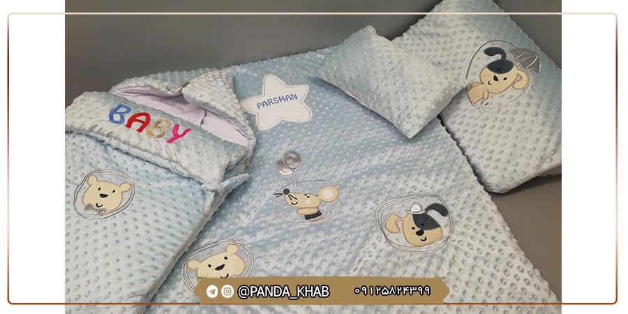 مرکز فروش روبالشی نوزادی مخمل