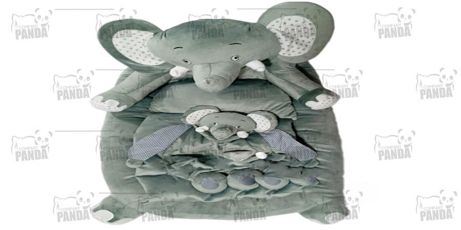 مدل تشک عروسکی کودک کلوروا طرح فیل